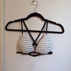 Ardene striped bikini top